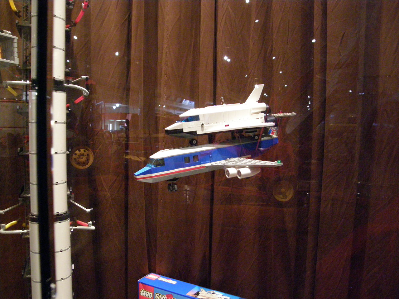 lego space shuttle and plane - photo #14